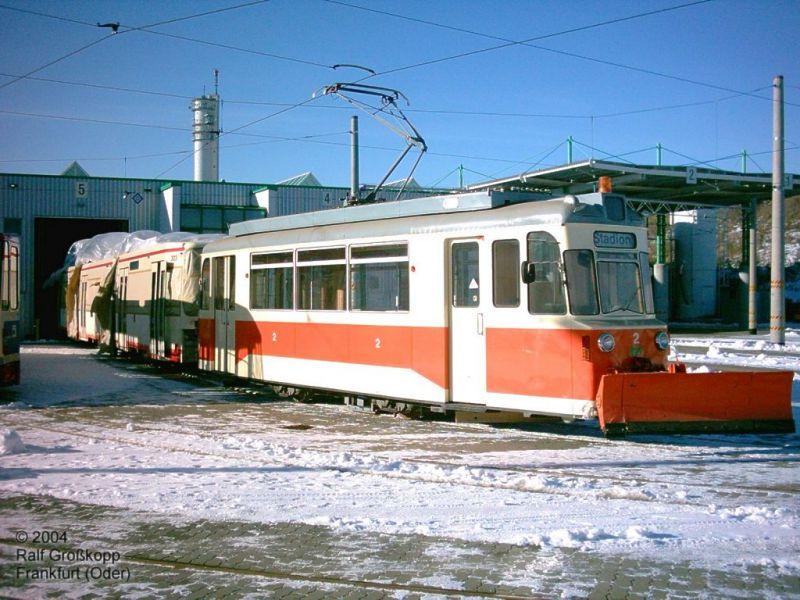 Arbeitswagen 2 mit GT6M 303