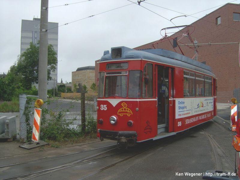 Wagen 29 an der Bachgasse 2003