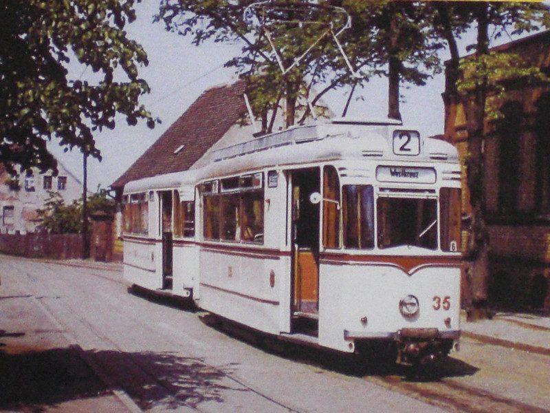 Frankfurts erster Gotha-Zug