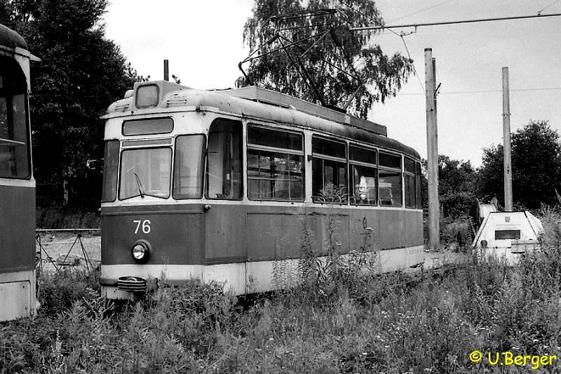 Ex Cottbuser Triebwagen 76