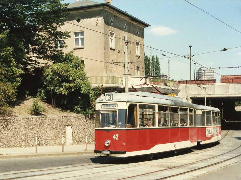 Gotha-Zug nach Markendorf