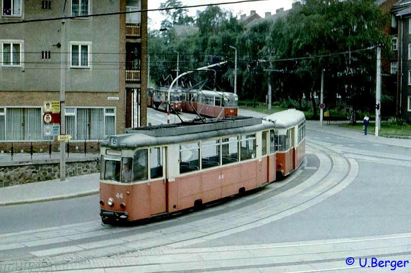 Reko-Wagen 44 im Sommer 1986