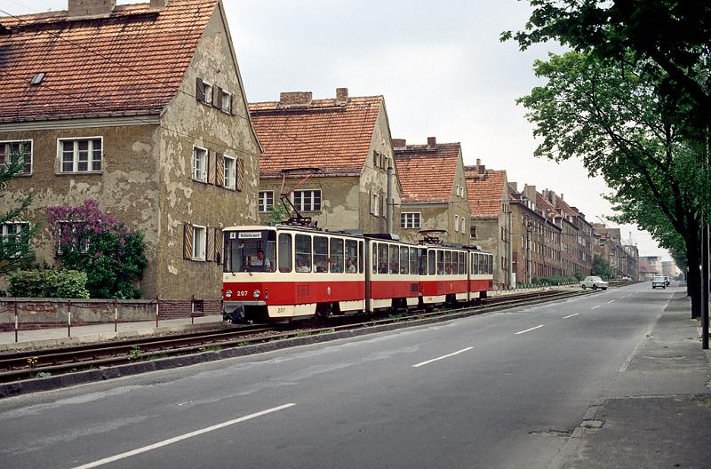 Frühling 1989 an der Leipziger Straße