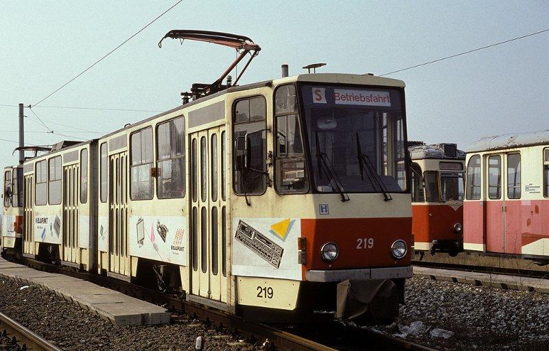 KT4D 219 im Auslieferungszustand