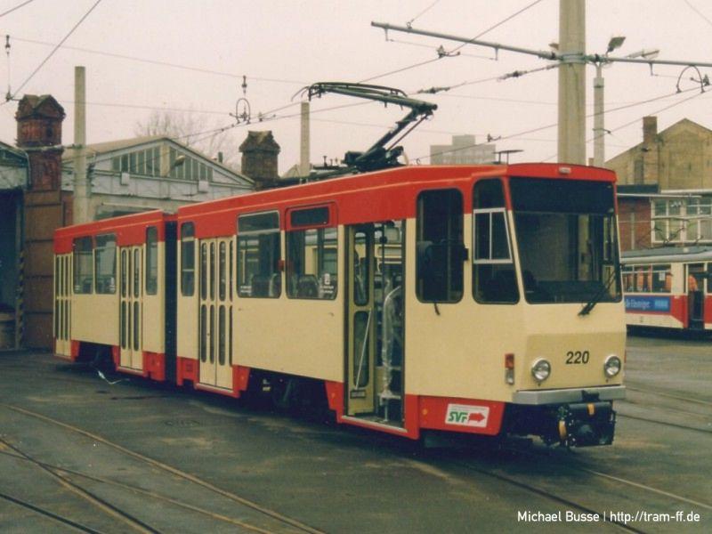 Nach der Modernisierung: KT4DM-Tw 220