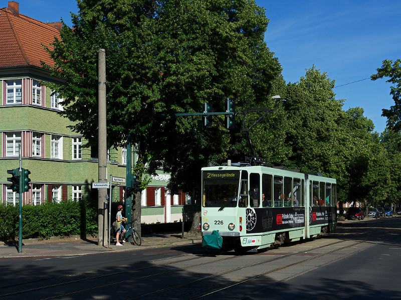 August-Bebel-Straße, Ecke Rathenaustraße