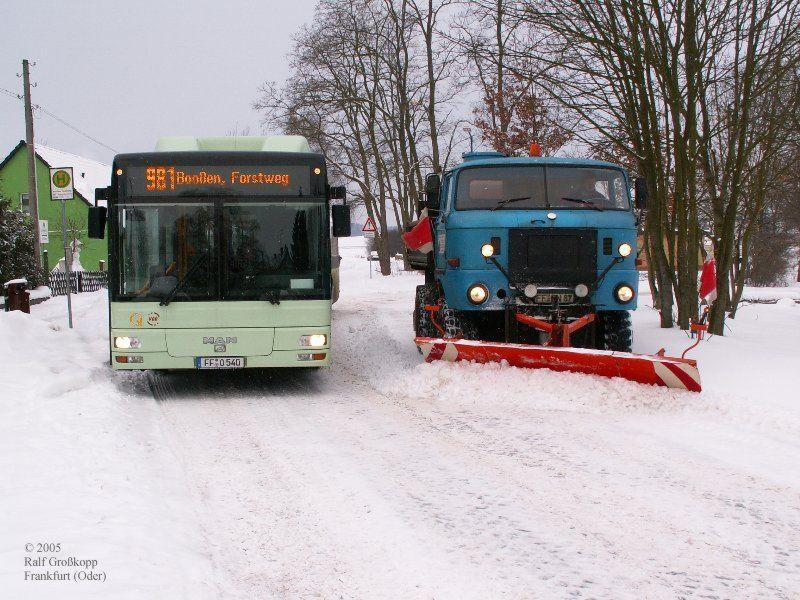 Winterdienst in Booßen