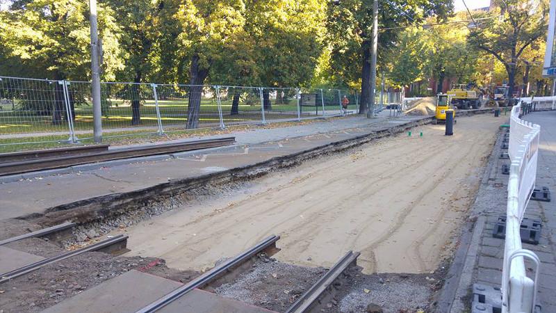 Gleisbau Lindenstraße 2015
