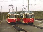 Gotha-Züge 41 + 103 und 27 + 111 Anfang 1994