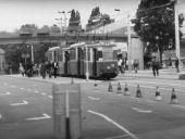 Linientreff am Platz der Republik im Jahr 1984