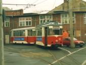 Wagen 32 mit Beiwagen 114