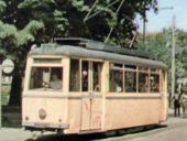 Wagen 38 als Tw 13 in Stralsund 1965