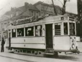 Linie 4 am Wilhelmsplatz 1938