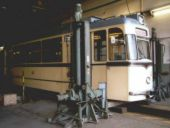 Wagen 49 in der Hauptuntersuchung im April 2002