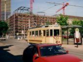 Wagen 60 in der Logenstraße im Mai 1992
