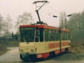 KT4DM 201 in der Schleife Messegelände