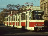 KT4D-Probefahrt im November 1987