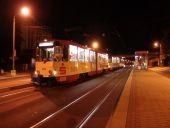 Straßenbahntreffen im Zentrum