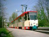 Tatra-Doppeltraktion auf Linie 4