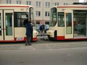Kupplung der Wagen 305 und 307