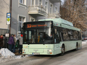 Bus 983 am Plac Frankfurcki