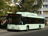 Erdgasbus 438 an der Prager Straße