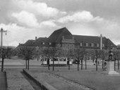 Bahnhof in den 1930er Jahren