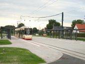 Neu gestaltete Haltestelle Markendorf, Ort